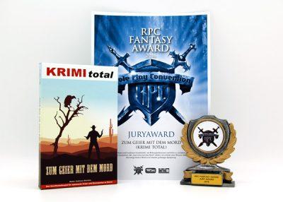RPC Fantasy Award 2016 für KRIMI total - Zum Geier mit dem Mord