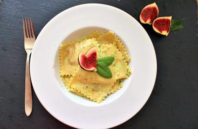 Pasta mit Feige in Salbeibutter