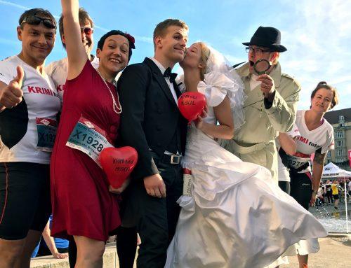 Fünf Kilometer im Brautkleid – Interview mit der Braut