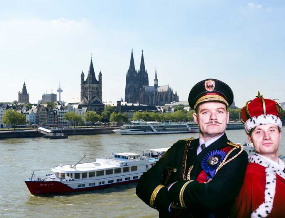KRIMI total legt ab: Mord Royal an Bord der MS RIVER ART auf dem Rhein