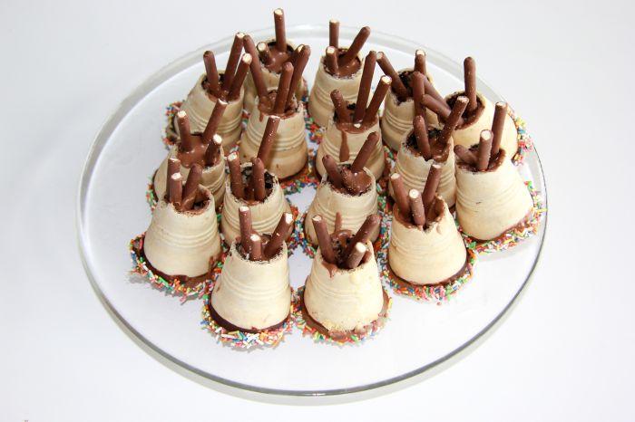 Tipi-Muffins fertig zum Verzehr