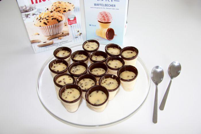 Tipi-Muffins vor dem Backen