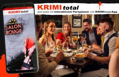 Partyplaner und KRIMI total App