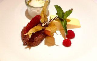 Dessert KRIMI total DINNER: Verführerisches Schokoladenmousse