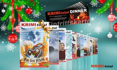 Mörderisch gute Geschenkideen von KRIMI total