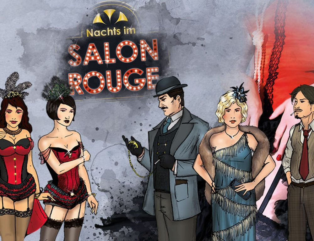 Kostümtipps für KRIMI total – Nachts im Salon Rouge
