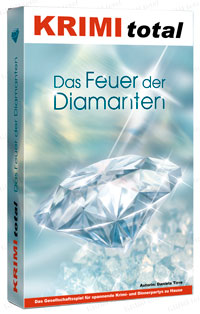 KRIMI total - Das Feuer der Diamanten (Krimispiel, Dinner, Party)