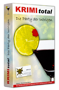 KRIMI total - Die Party der Intrigen (Fall 7) (Gedruckte Edition in Spielbox, inkl. interaktivem Partyplaner)