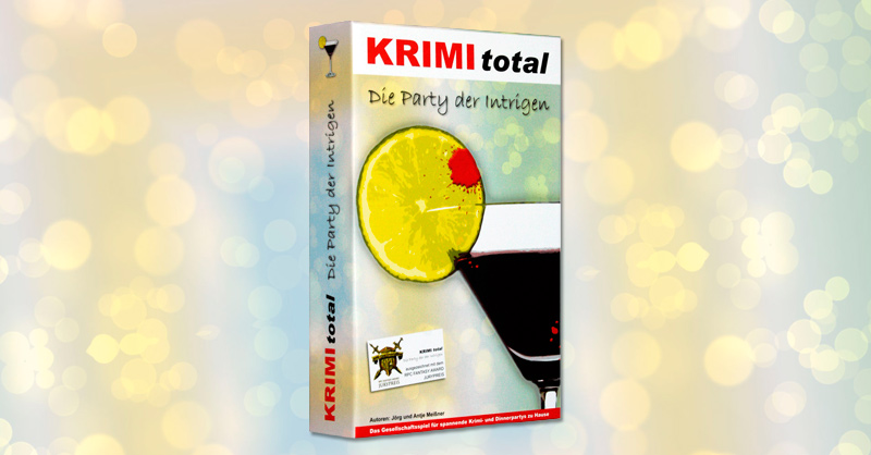 KRIMI total ® - Die Party der Intrigen (Krimispiel)