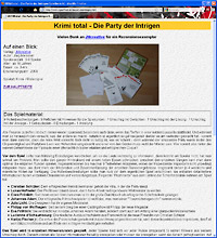 KRIMI total - Die Party der Intrigen - goodgameguide.de