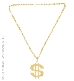 Goldene Dollarkette